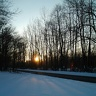 Wake up early in winter